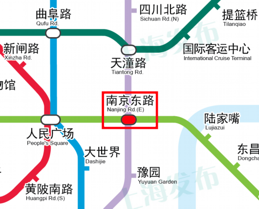 轨道交通二号线、十号线南京东路站出入口关闭.png